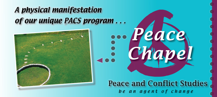 Graphic showing Peace Chappel