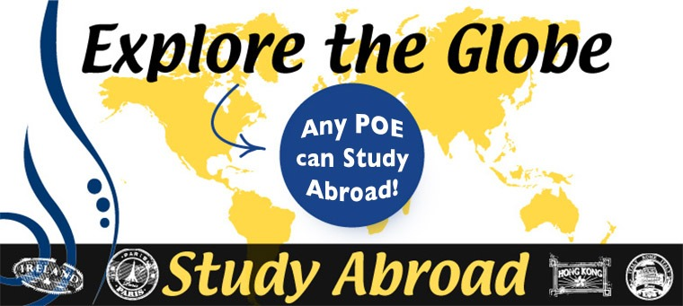 Graphic: Any POE can study abroad