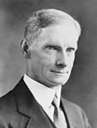 Archival photo of C. C. Ellis, sixth president