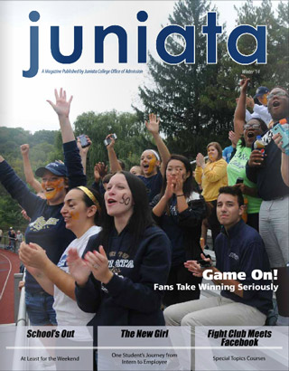 Cover of Juniata Admission Magazine, 2014