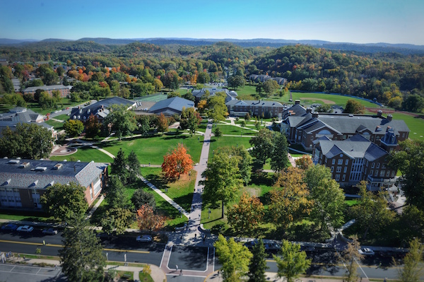 Aerial View of Quad