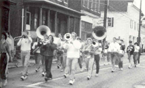 Historical Marching Band Photo