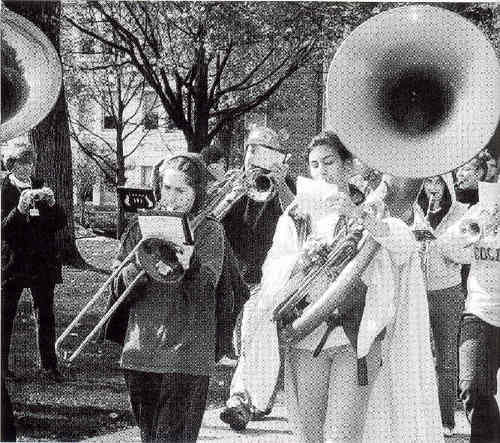 Historical Pep Band Photo