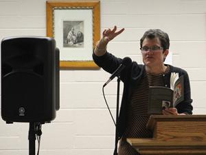 Off the Frack: Local Poet Plumbs Environment for Topics