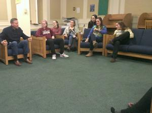 Opening Dialogue: Juniata Leaders Hold Dorm Chats