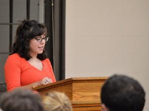 Poetry Reading Showcases Student Work