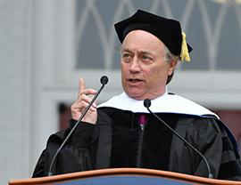 Be Who You Are: Emmy-Winning Alumnus Gives Advice as 329 Receive Degrees