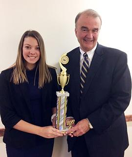Juniata College's Mock Trial Team Faces Down Top-Ranked Opponents
